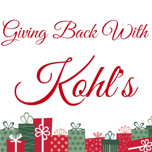 giving back with kohl's