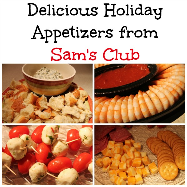 Delicious Holiday Appetizers From Sam's Club {Giveaway}