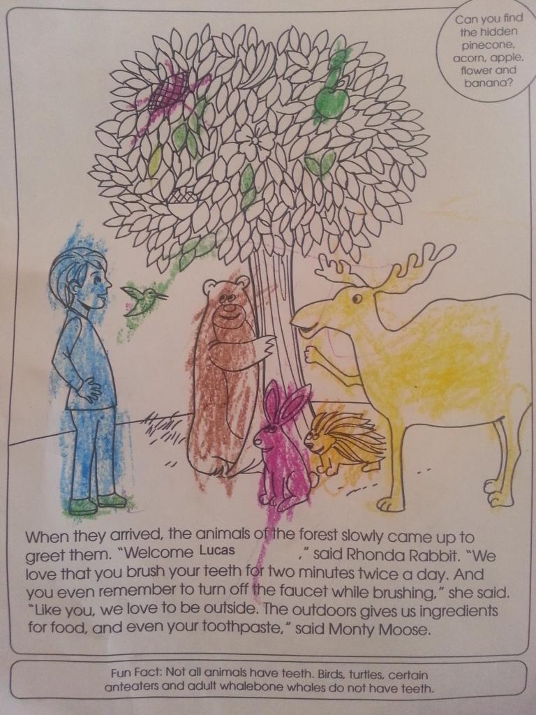 Make Brushing Fun With Free Coloring Books