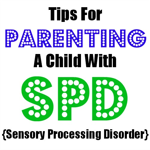 parenting a child with spd