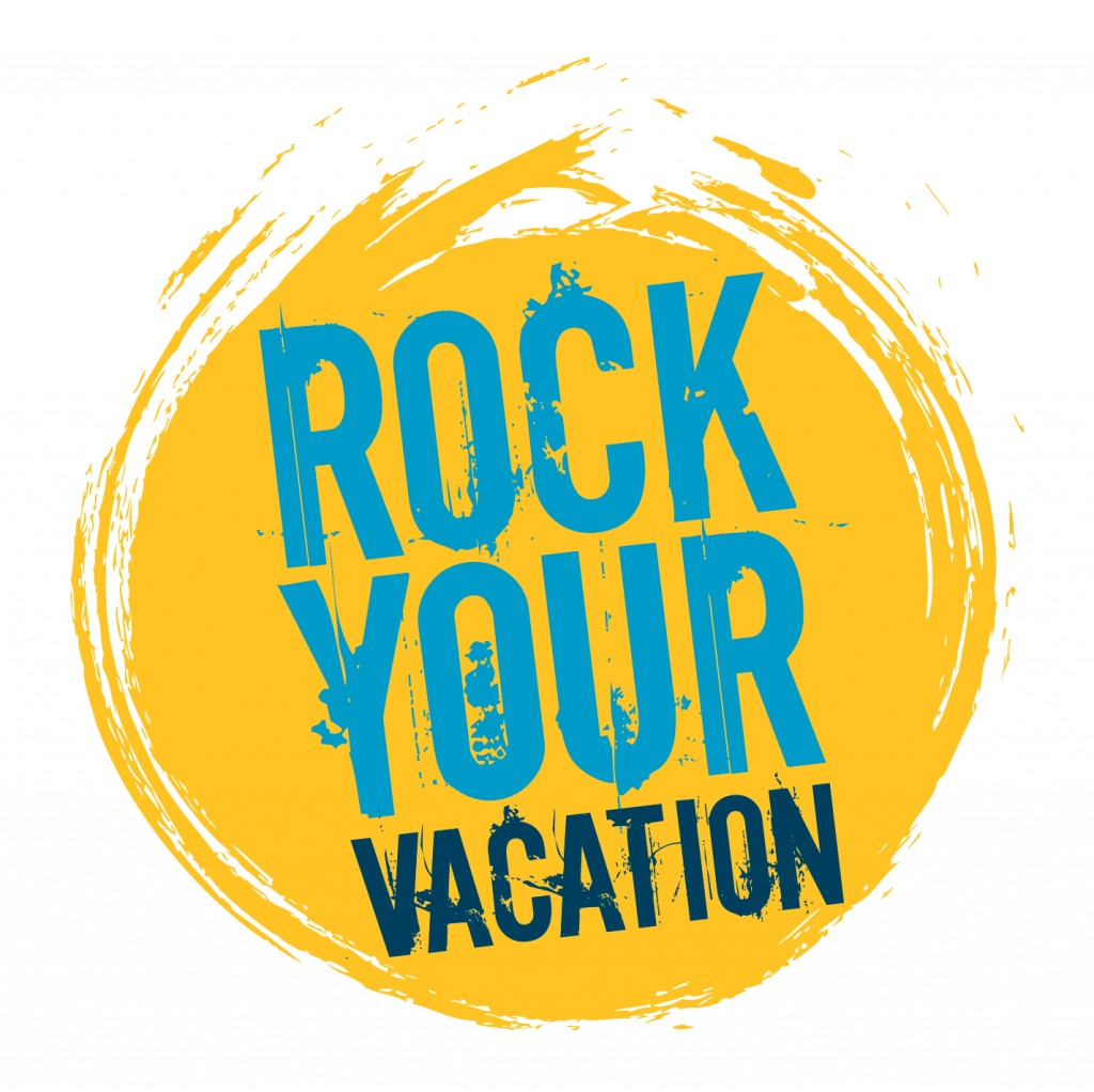 EXK Rock Your Vacation Logo