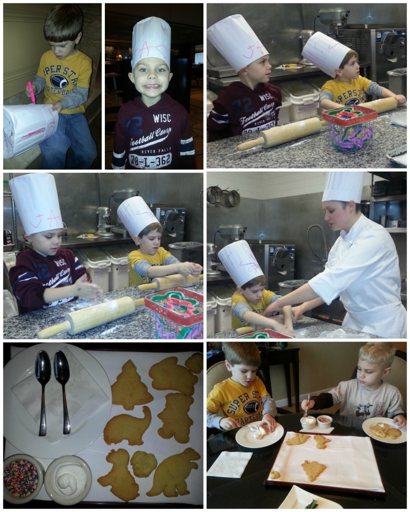 Ritz baking collage