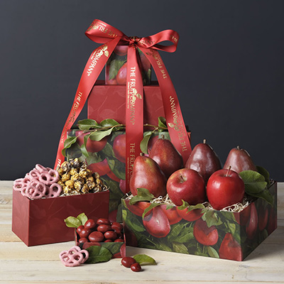 TFC Red Pear Valentine Tower