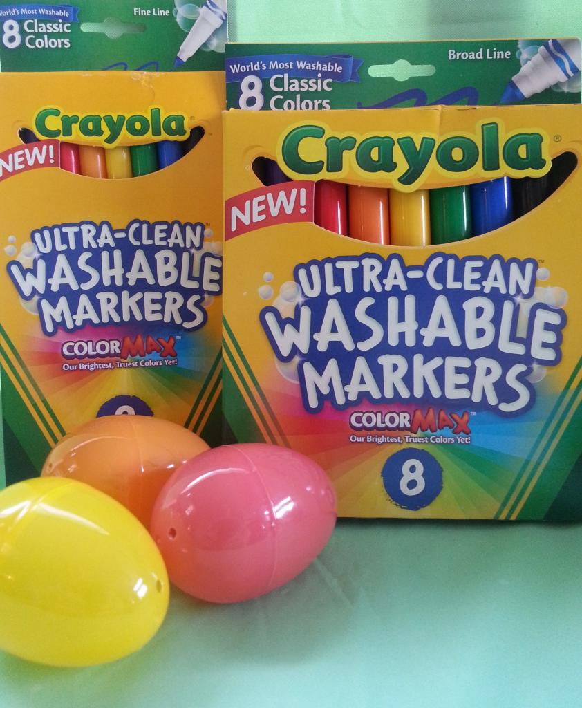 Easter archives making time for mommy crayola crayons have always been a staple in our easter baskets but now that the boys are a little older they also enjoy using markers negle Images