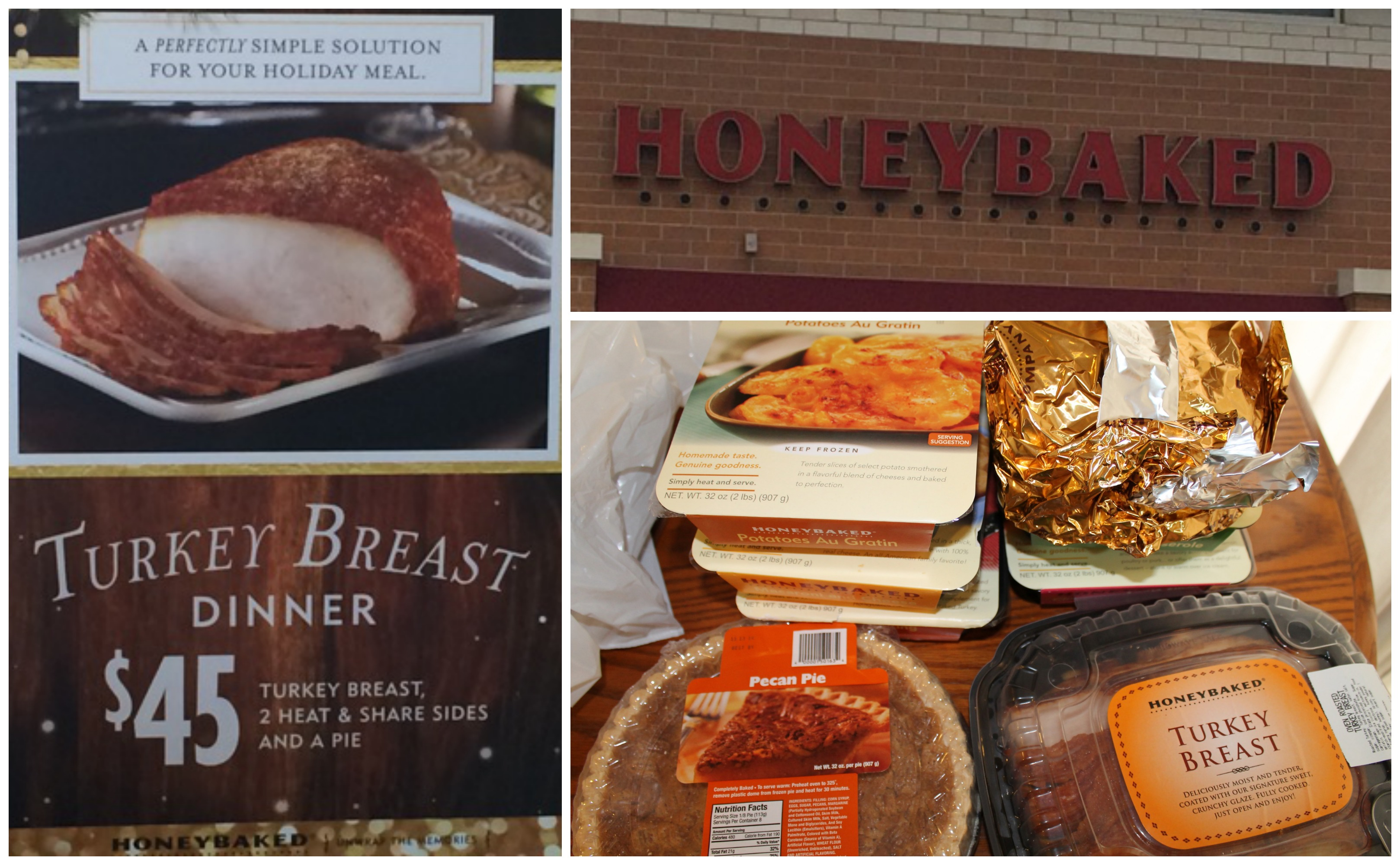 Easy Thanksgiving Meals With Honeybaked Ham And Turkey Giveaway