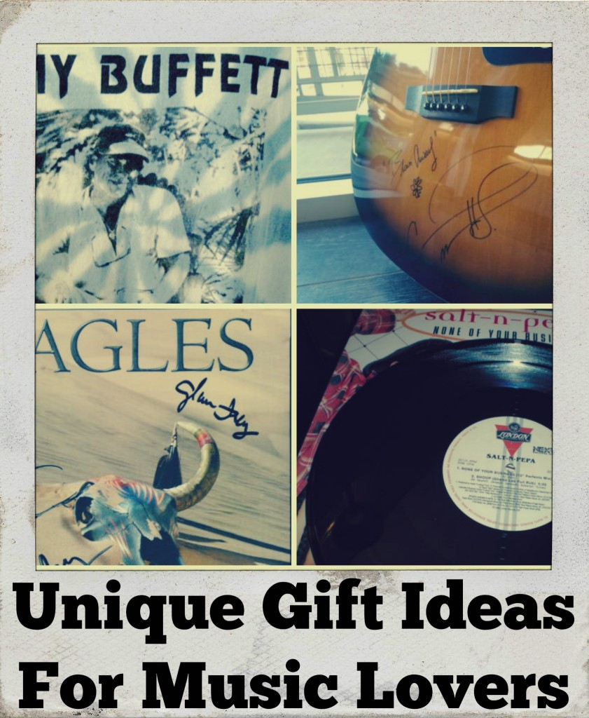 Unique Gift Ideas For Music Lovers