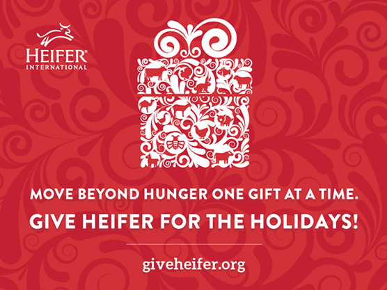 Photo courtesy of Heifer International.