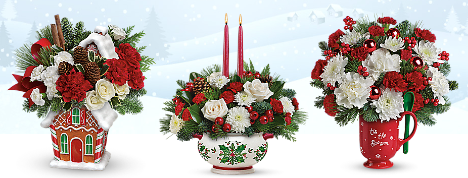 Holiday Bouquets From Teleflora And The Cake Boss