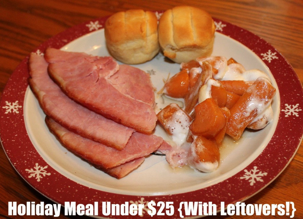 A Holiday Meal For Under $25