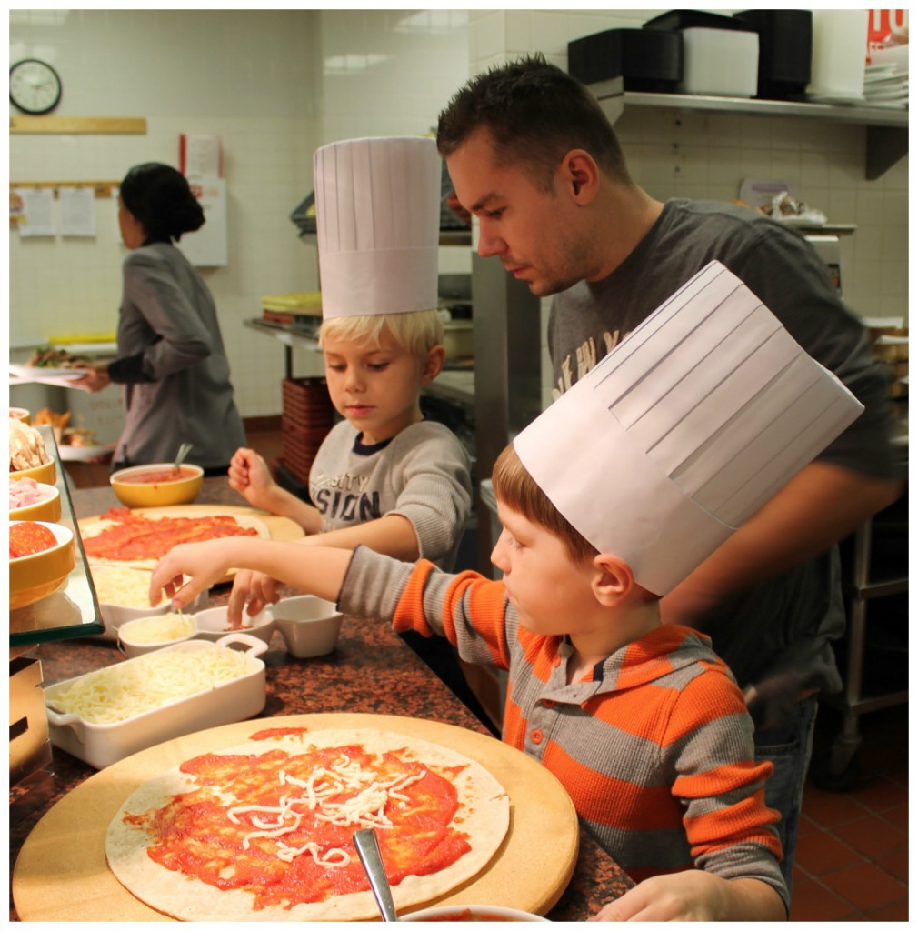 Pizza Making And Fun At Four Seasons Hotel Chicago