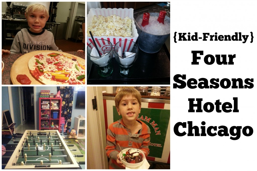 kid-friendly four seasons hotel chicago