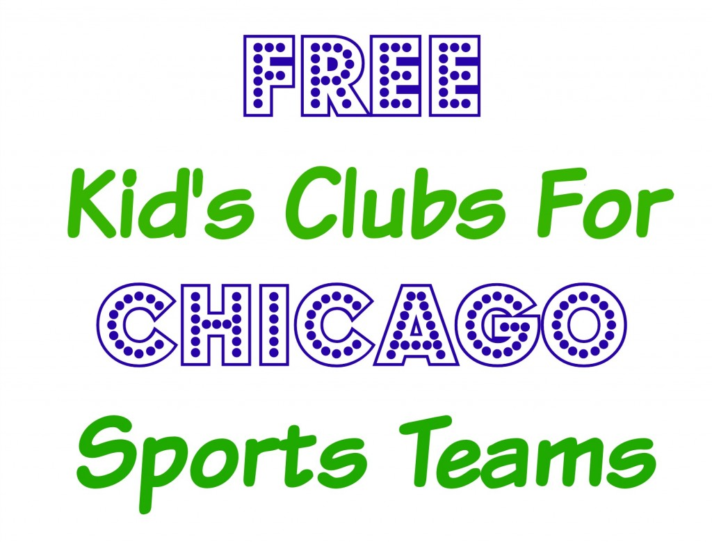 Free Kid's Clubs For Chicago Sports Fans