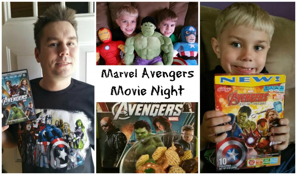 marvel avengers movie night