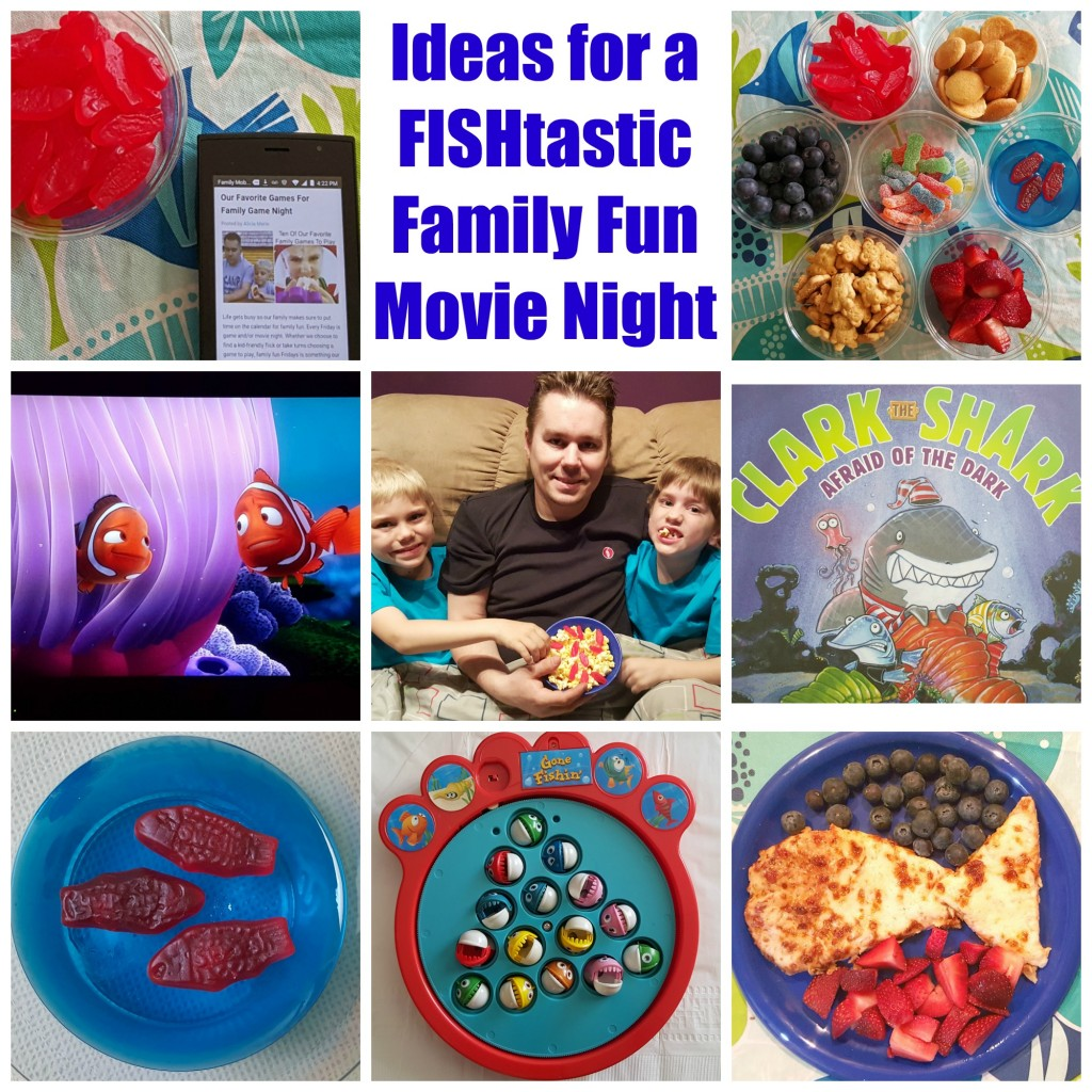 How To Have A FISHtastic Family Fun Movie Night
