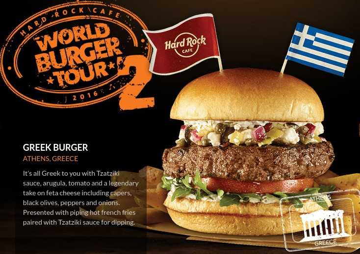 Hard Rock Cafe's World Burger Tour