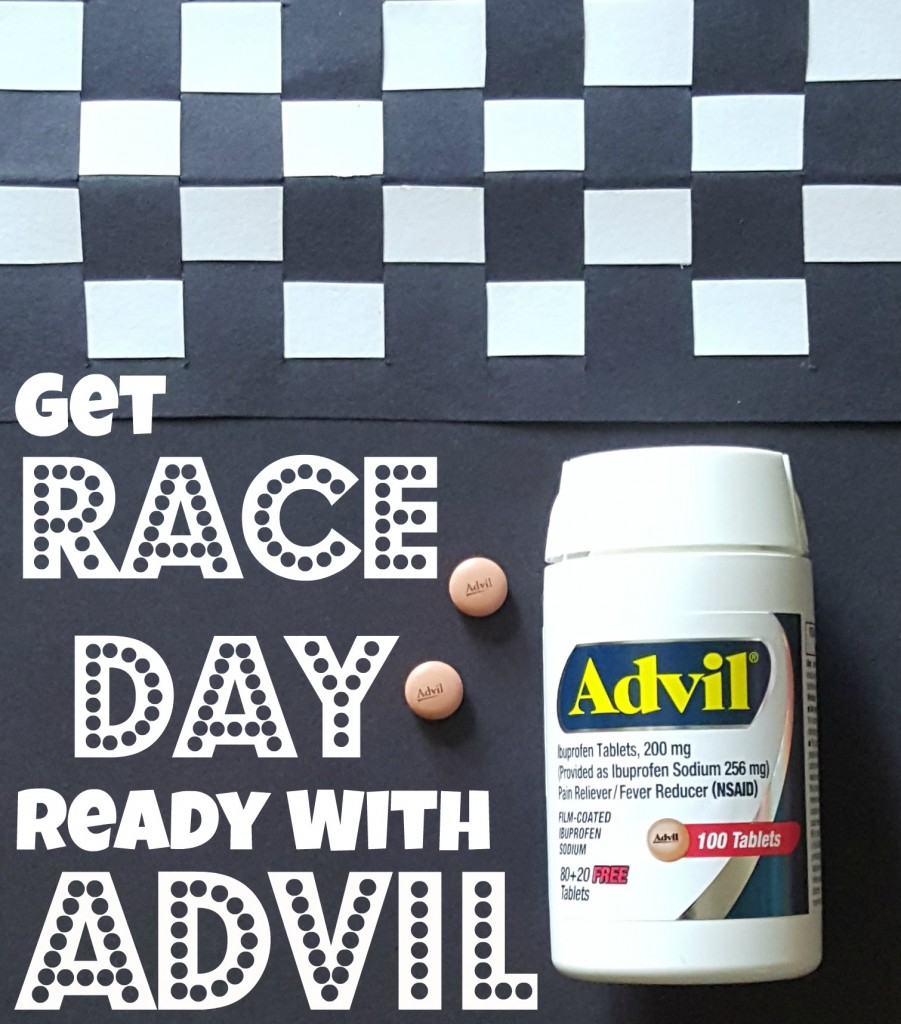 Get Race Day Ready With Advil And A Fun Racetrack Craft