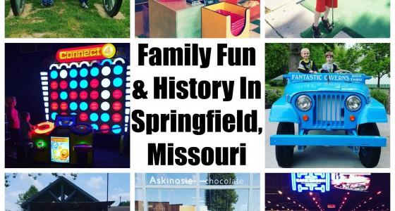 Fun in Springfield Missouri