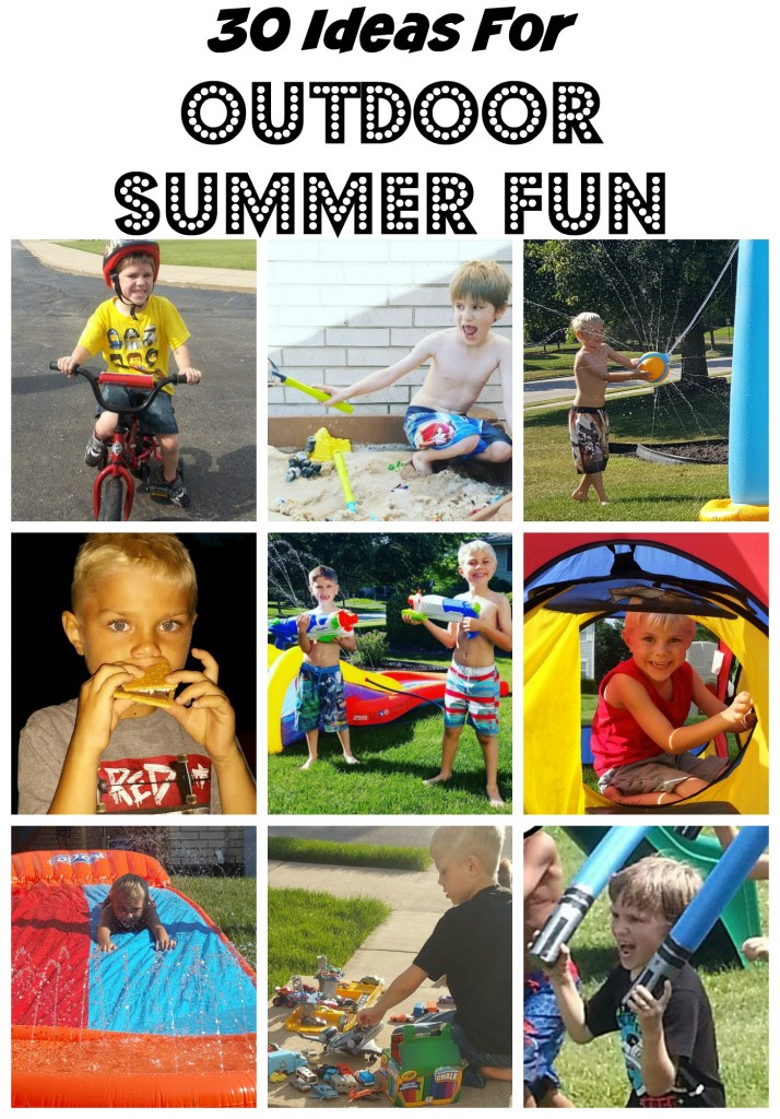 30 Ideas For Outdoor Summer Fun At Home