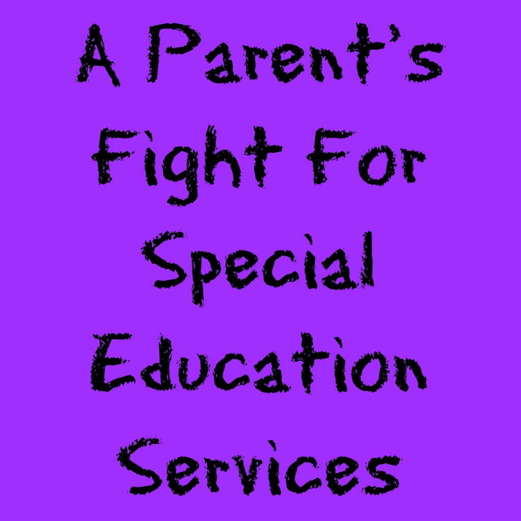 A Parent's Fight For Special Education Services