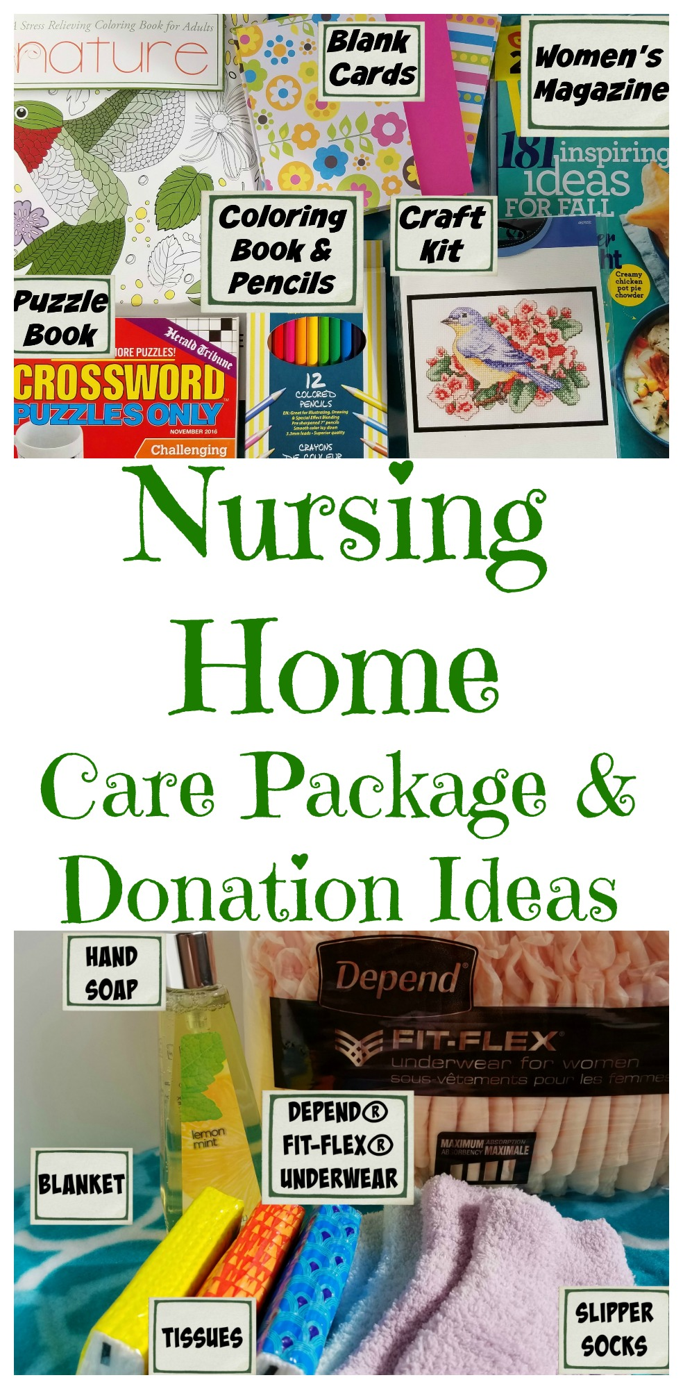 Creating A Nursing Home Care Package Making Time For Mommy