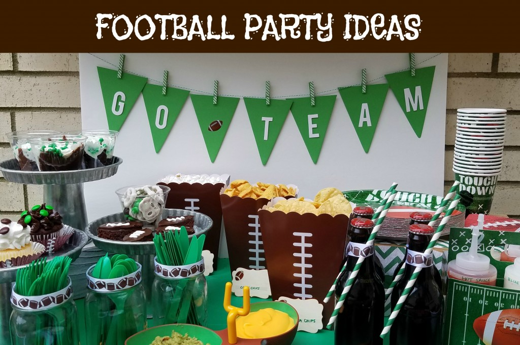 Football Party With A Baked Potato Bar