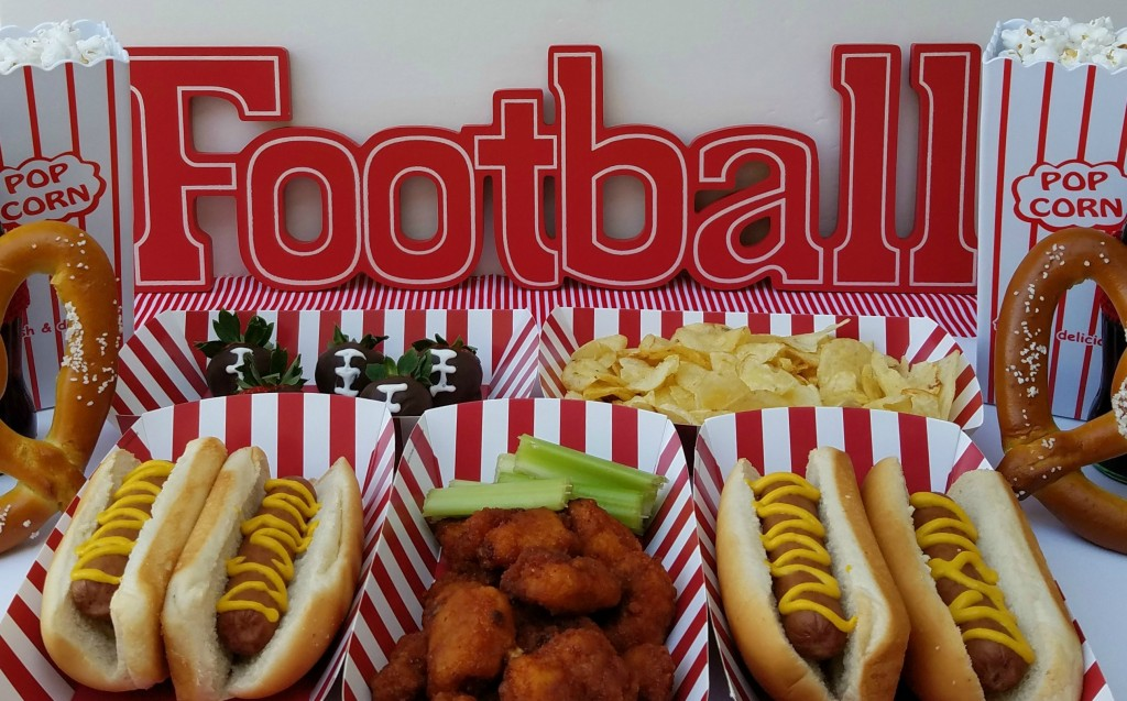 Concession Stand Themed Football Party