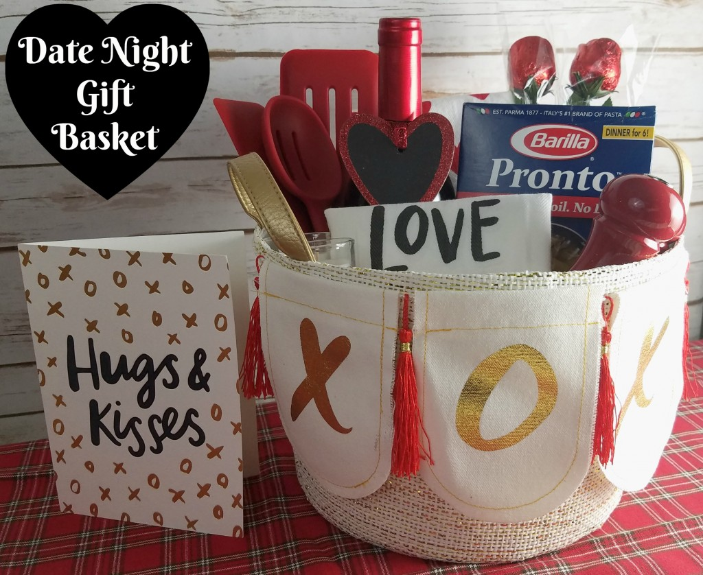 'Dinner For Two' Date Night Gift Basket