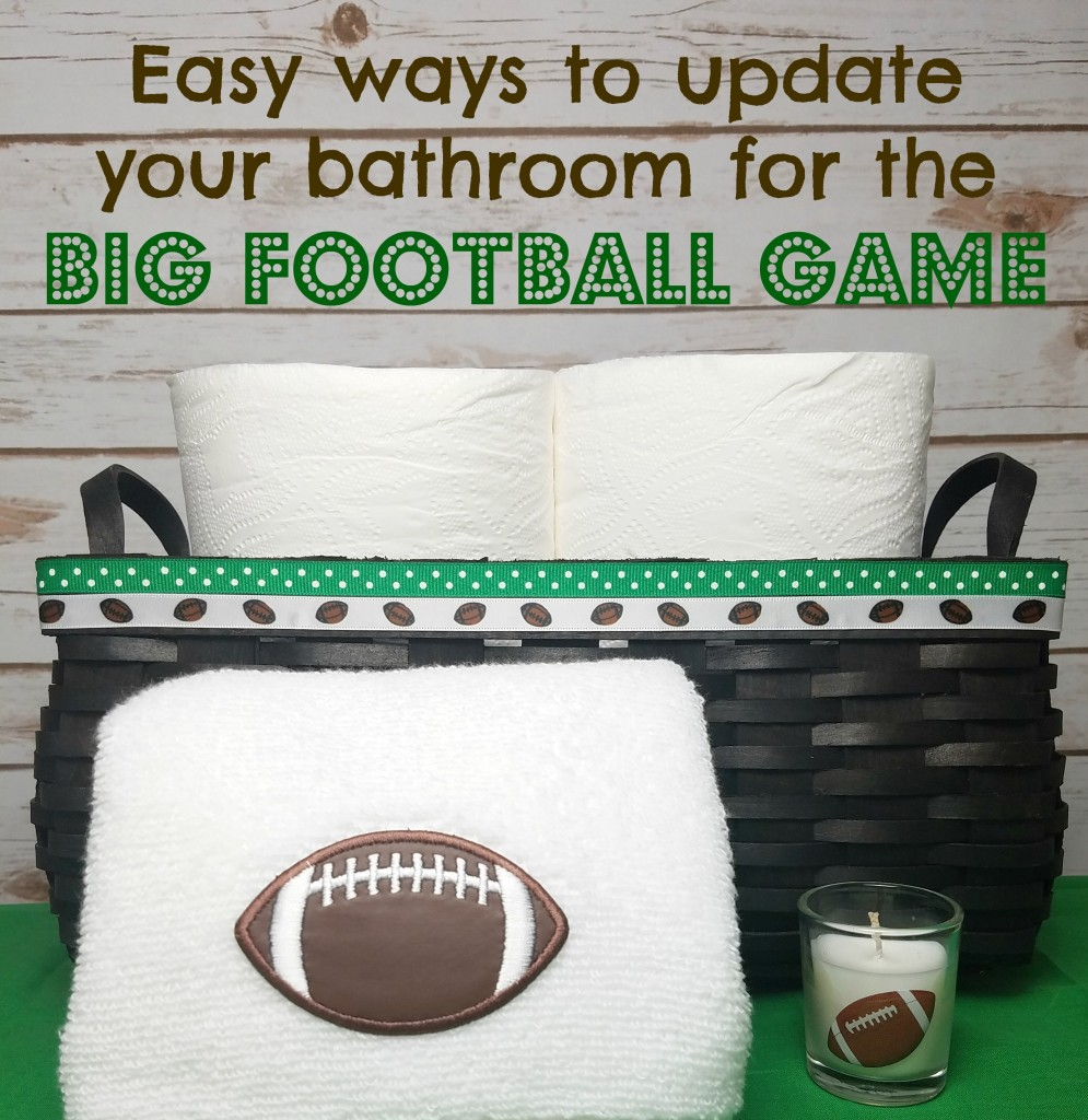 Easy Ways To Update Your Bathroom For The Big Game