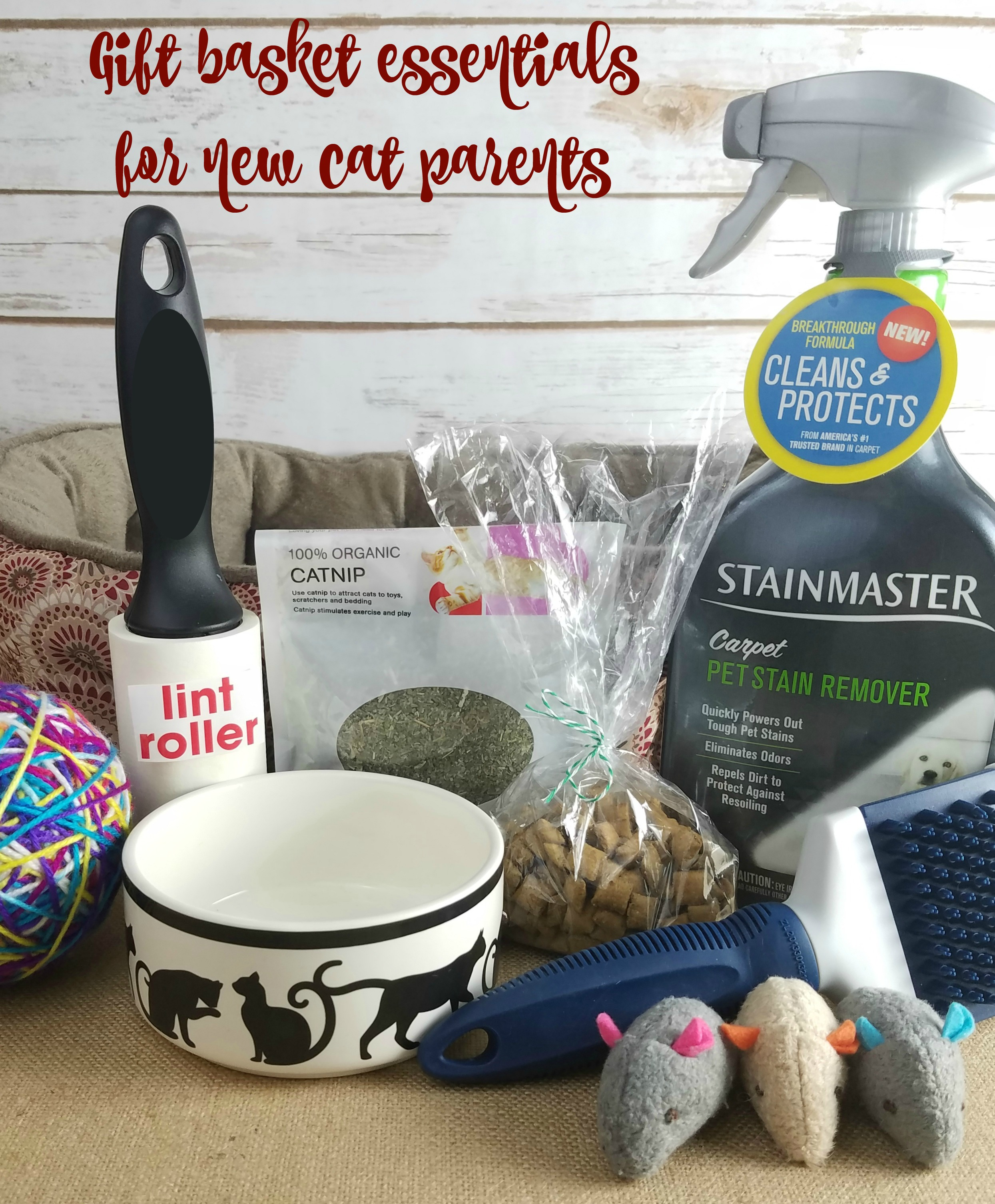 Gift Basket For New Cat Parents