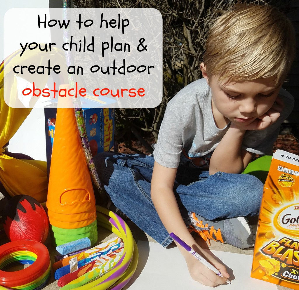 How To Help Your Child Plan And Create An Outdoor Obstacle Course
