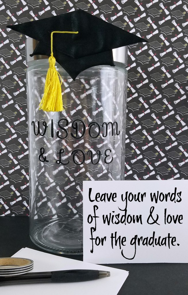 Jar Of Wisdom And Love For A Graduate Making Time For Mommy