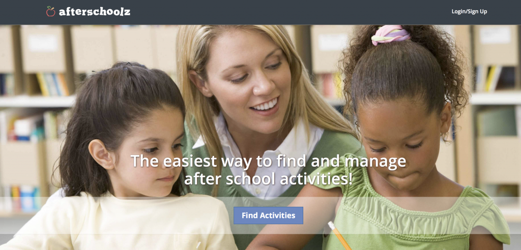 Afterschoolz: An Activity Finder For Chicago Area Families