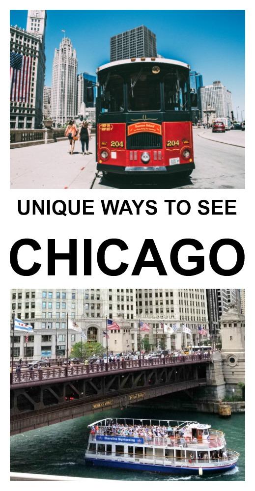 unique ways to see Chicago