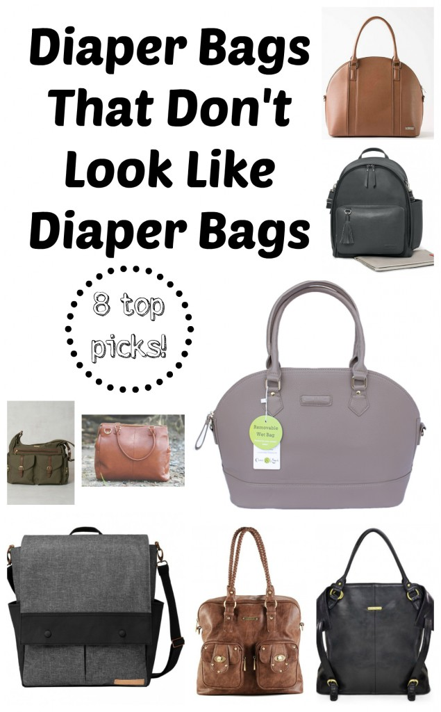 8 Diaper Bags That Don't Look Like Diaper Bags