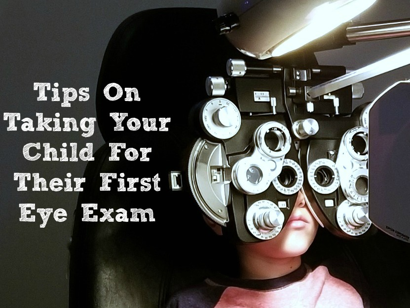 Tips On Taking Your Child For Their First Eye Exam