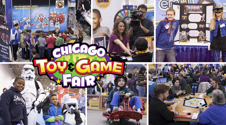 Chicago Toy & Game Fair (Giveaway)
