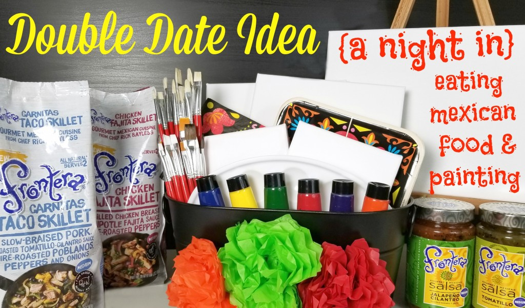 Double Date Idea And A Paint Night Gift Basket