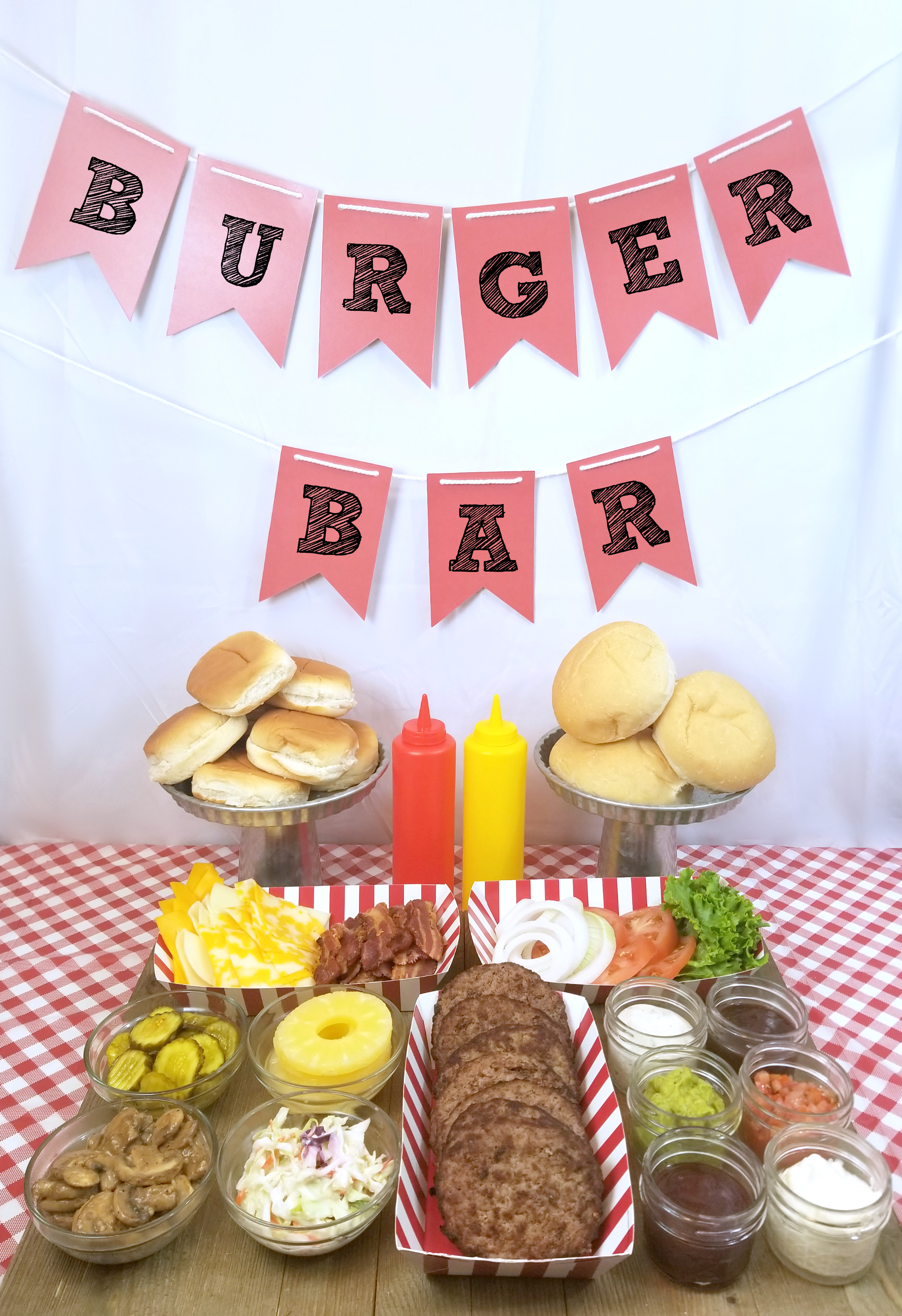 Burger Bar Ideas and Topping Suggestions