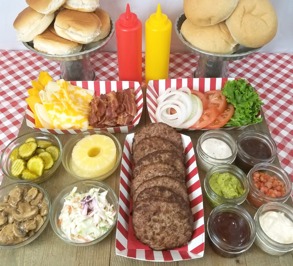 Burger Bar Toppings