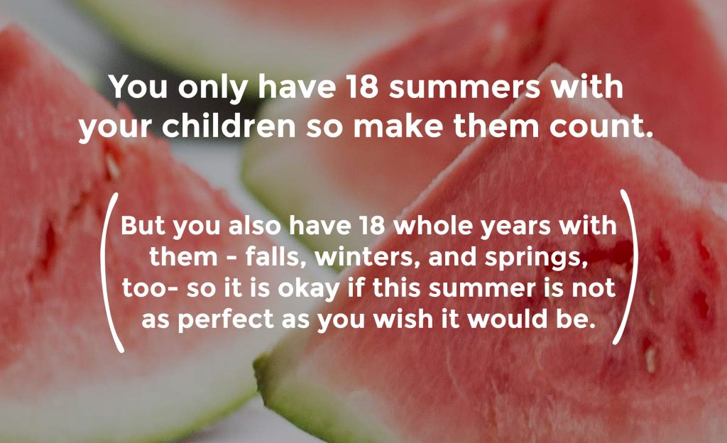 It Is Okay If This Summer Is Not The Best Summer Ever