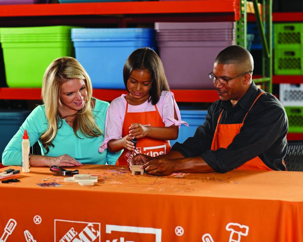 Home Depot Kid's Workshop