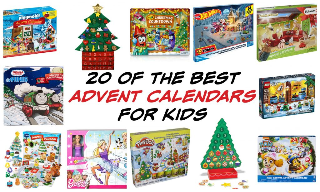 01c55c59aa27 One thing my boys look forward to doing each holiday season is picking out  a special Advent calendar and opening it each morning throughout December  to see ...