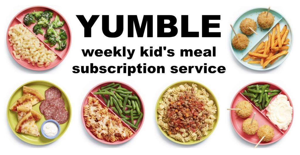 Weekly Kids Meal Subscription Service To Make Life Easier