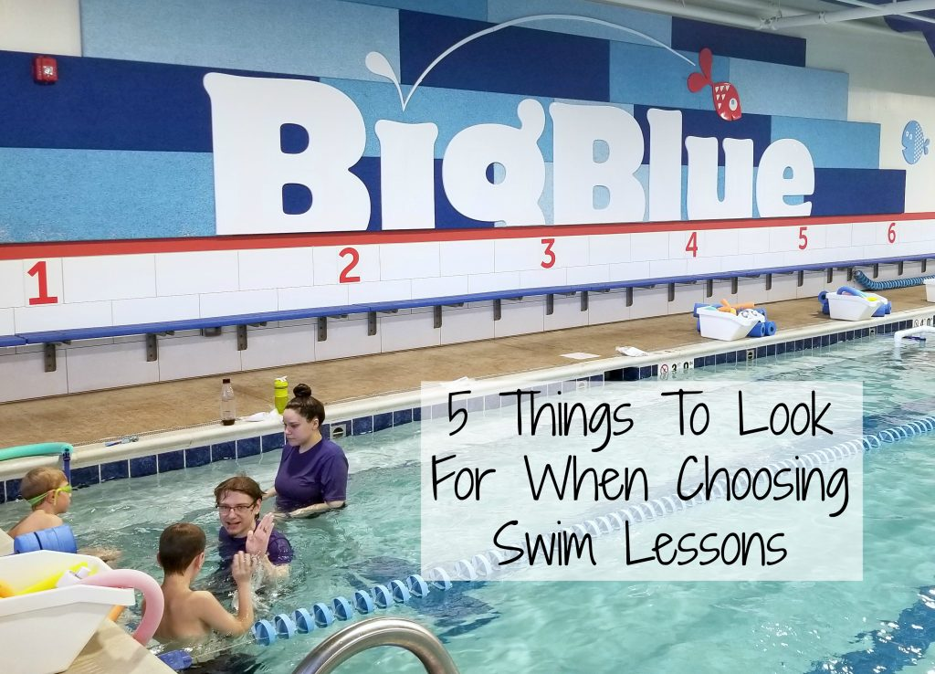 5 Things To Look For When Choosing Swim Lessons